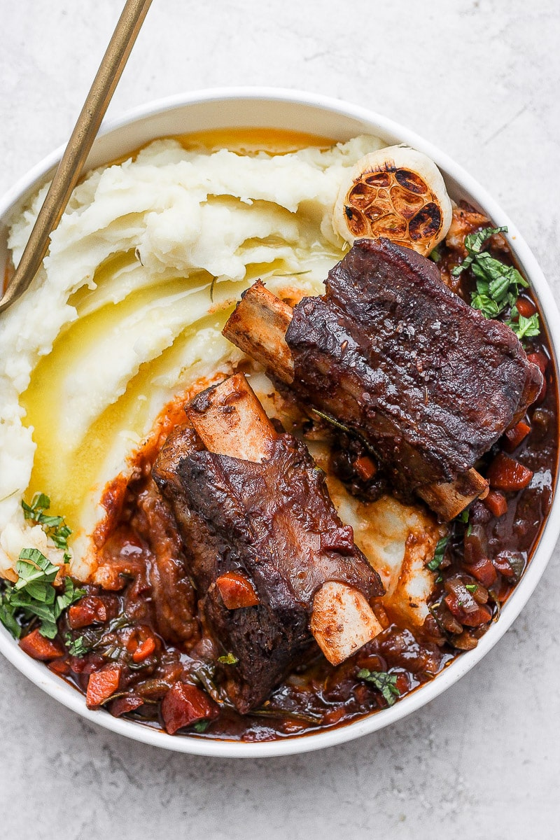 Braised Beef Short Ribs The Wooden Skillet