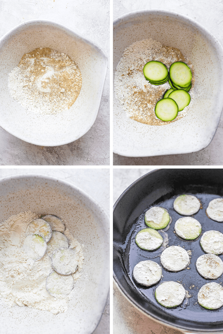 how to make fried zucchini