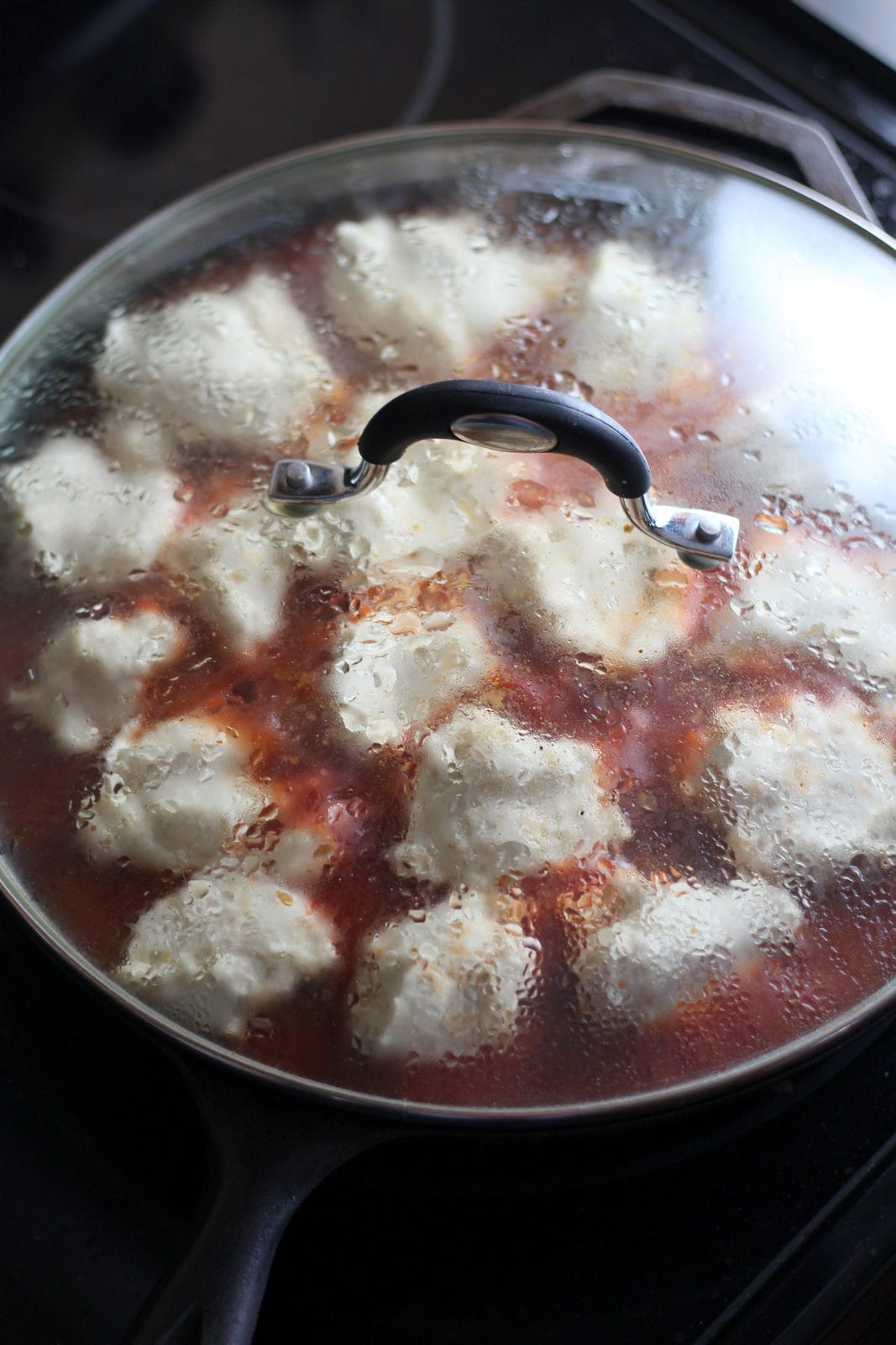 How to make meatballs and dumplings. thewoodenskillet.com