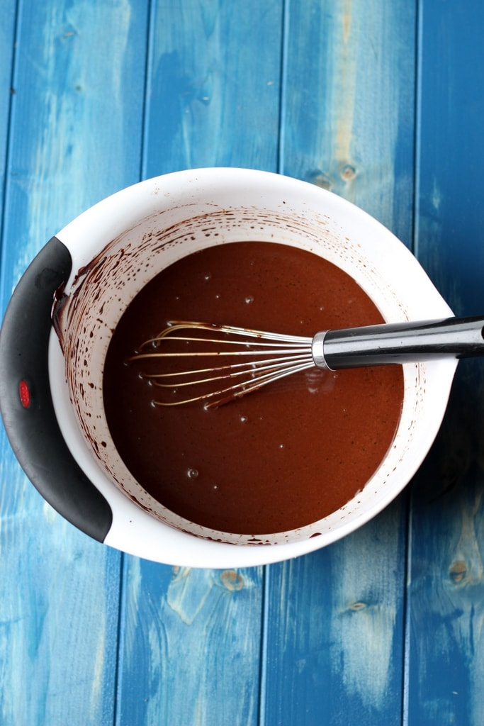 How to make chocolate sorbet - thewoodenskillet.com
