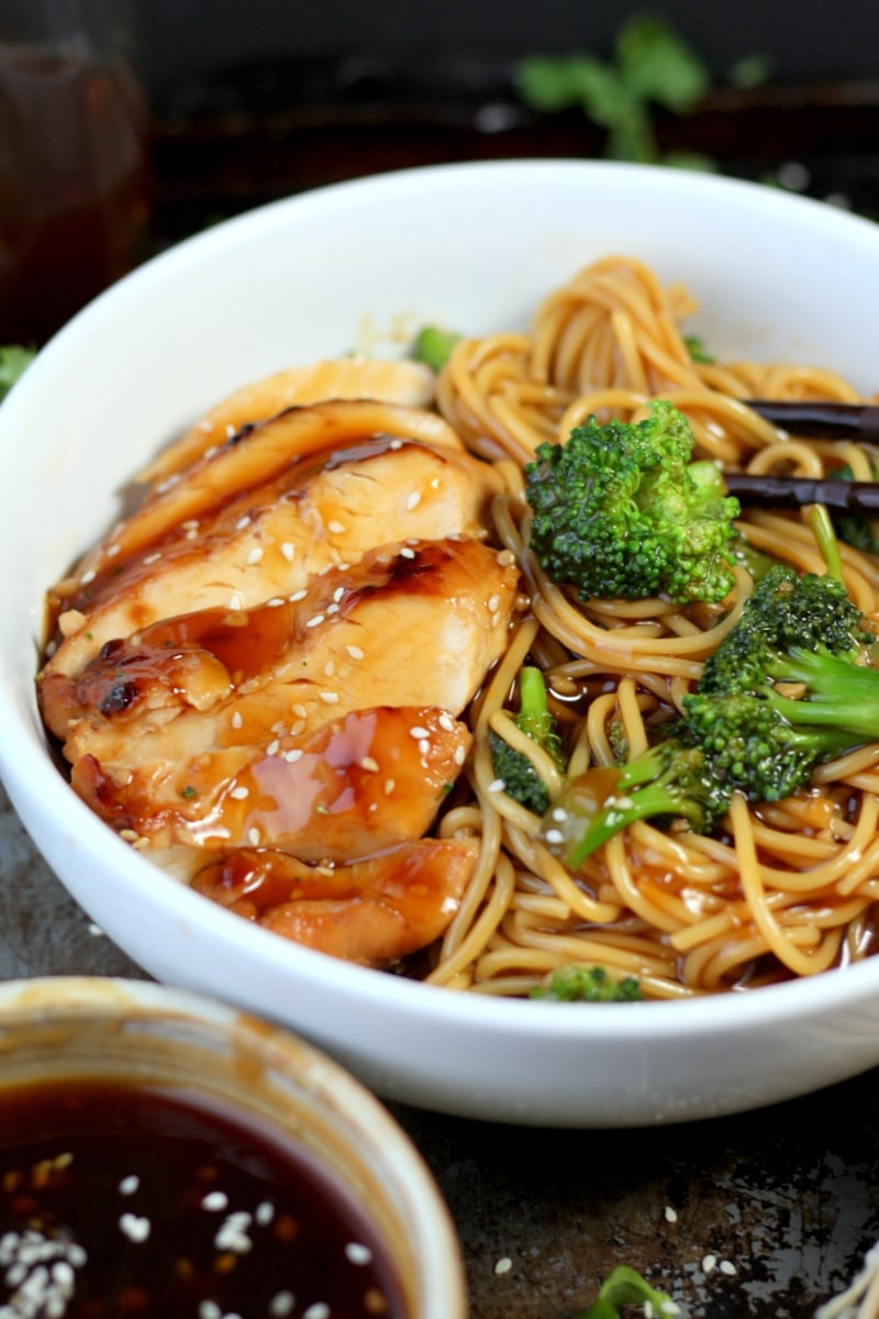 Simple Teriyaki Noodles