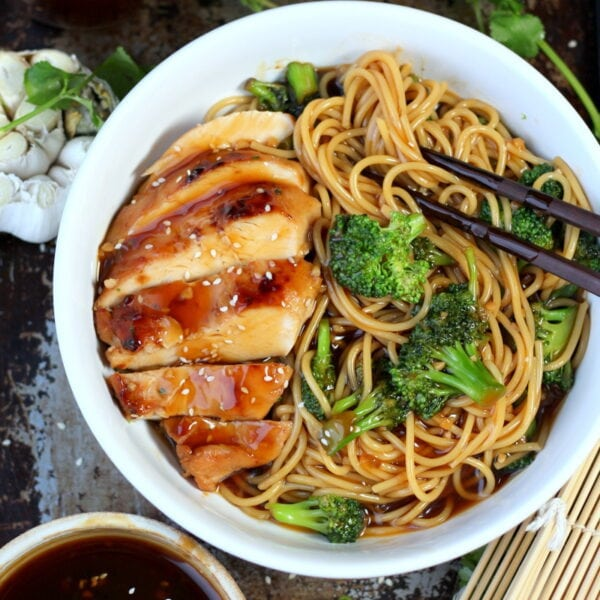 https://thewoodenskillet.com/easy-weeknight-teriyaki-chicken-broccoli/