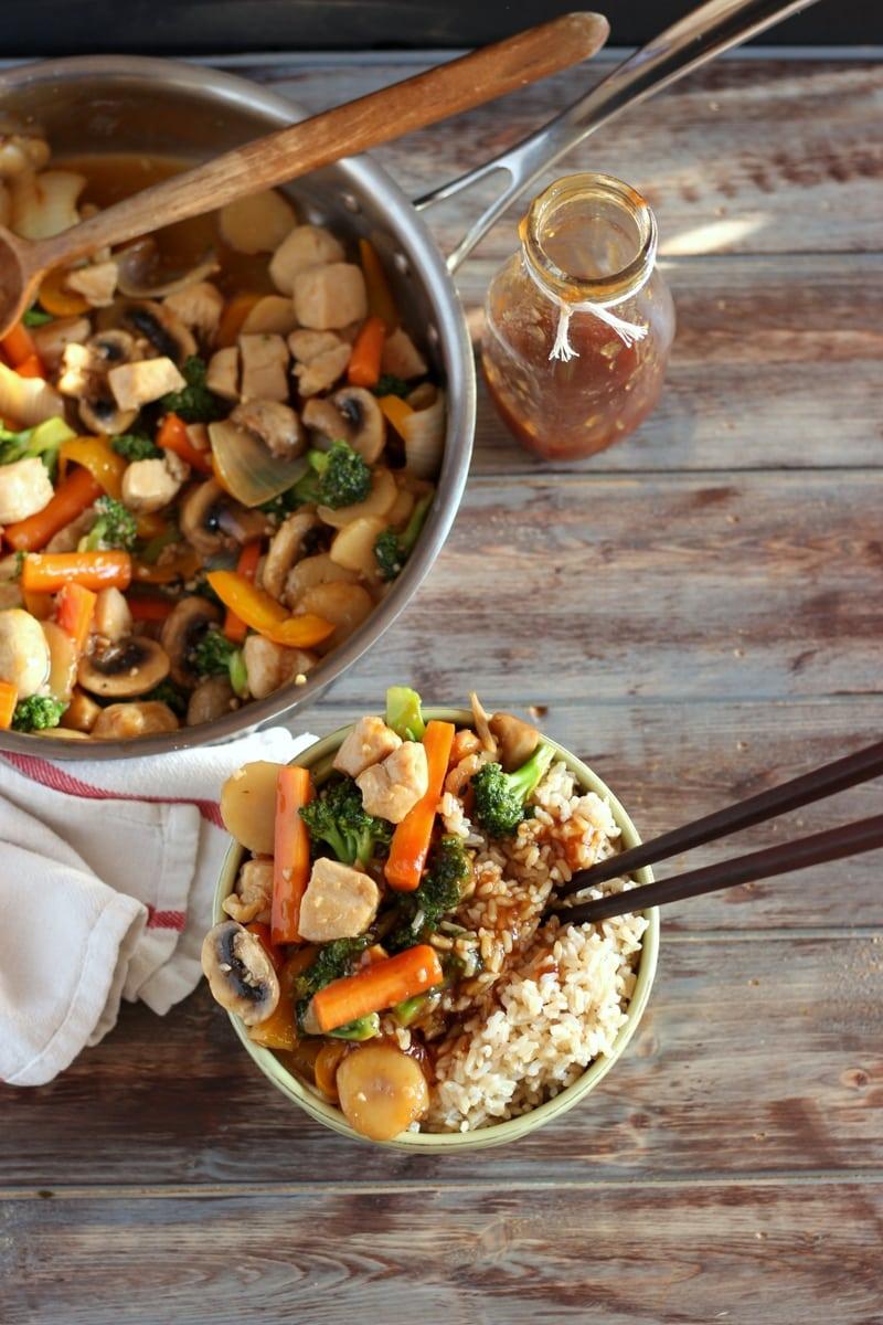 Chicken Teriyaki Stir-Fry - an easy weeknight meal!