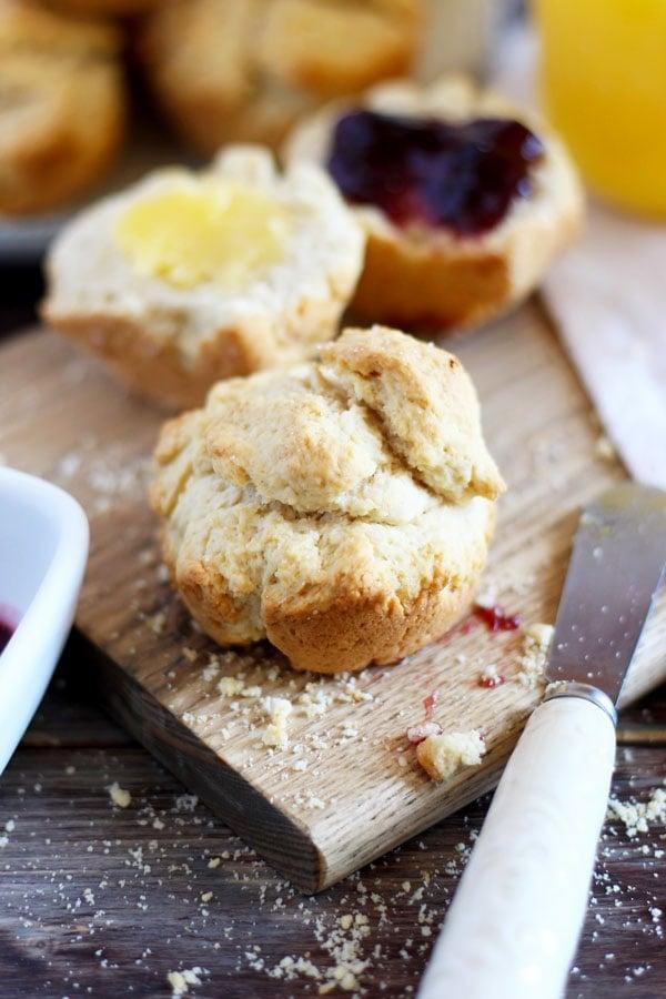 Ghee Breakfast Biscuits + Grape Preserve