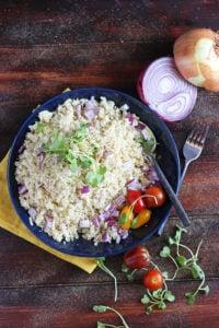How to Make Cauliflower Rice - thewoodenskillet.com