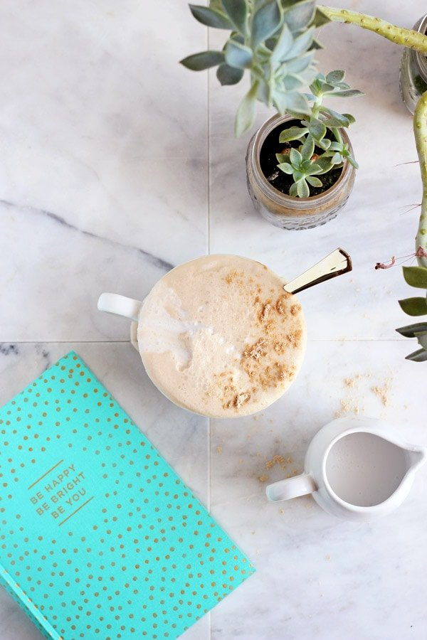 Coconut Cream Cold Brew Latte + Cinnamon and Vanilla