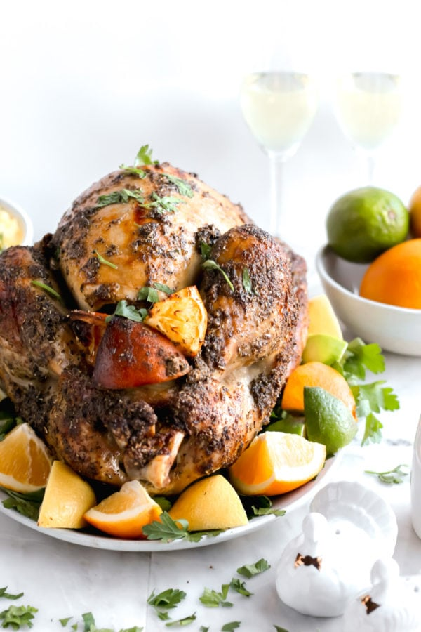 Citrus Herb Roasted Thanksgiving Turkey