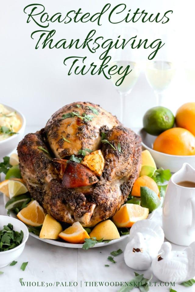 Herb-Citrus Roasted Thanksgiving Turkey