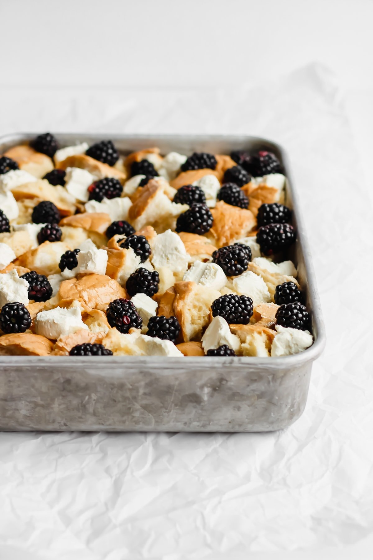 Dairy Free Blackberry French Toast