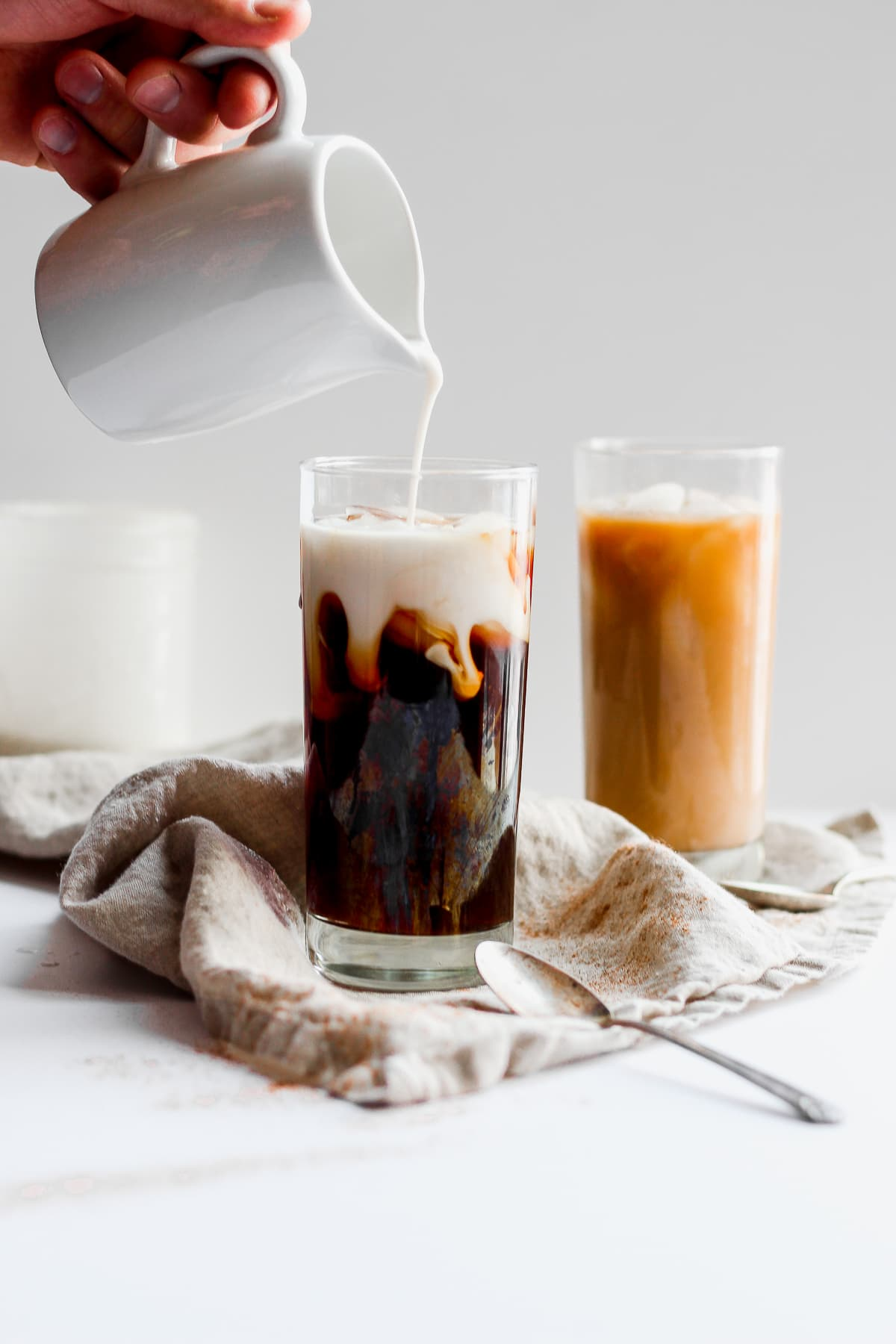 Dairy Free Vanilla Cinnamon Coffee Creamer