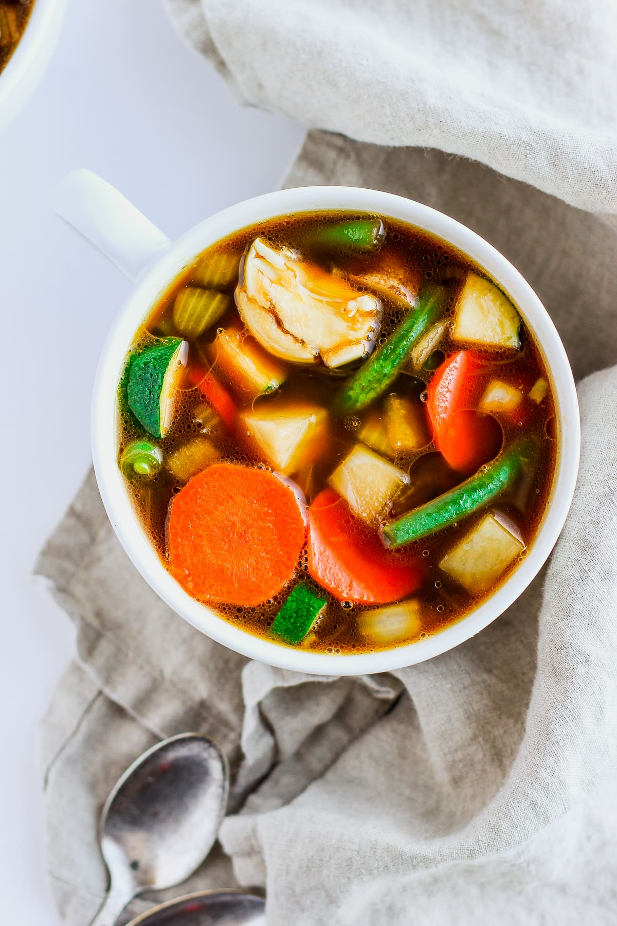 Savory Whole30 Vegetabe Soup