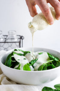 Basic Whole30 Ranch Dressing - a must have for your Whole30 and Paleo lifestyle! #paleo #whole30