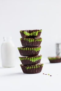 Matcha Coconut Butter Cups - a delicious indulgence that is paleo and gluten free! #paleo