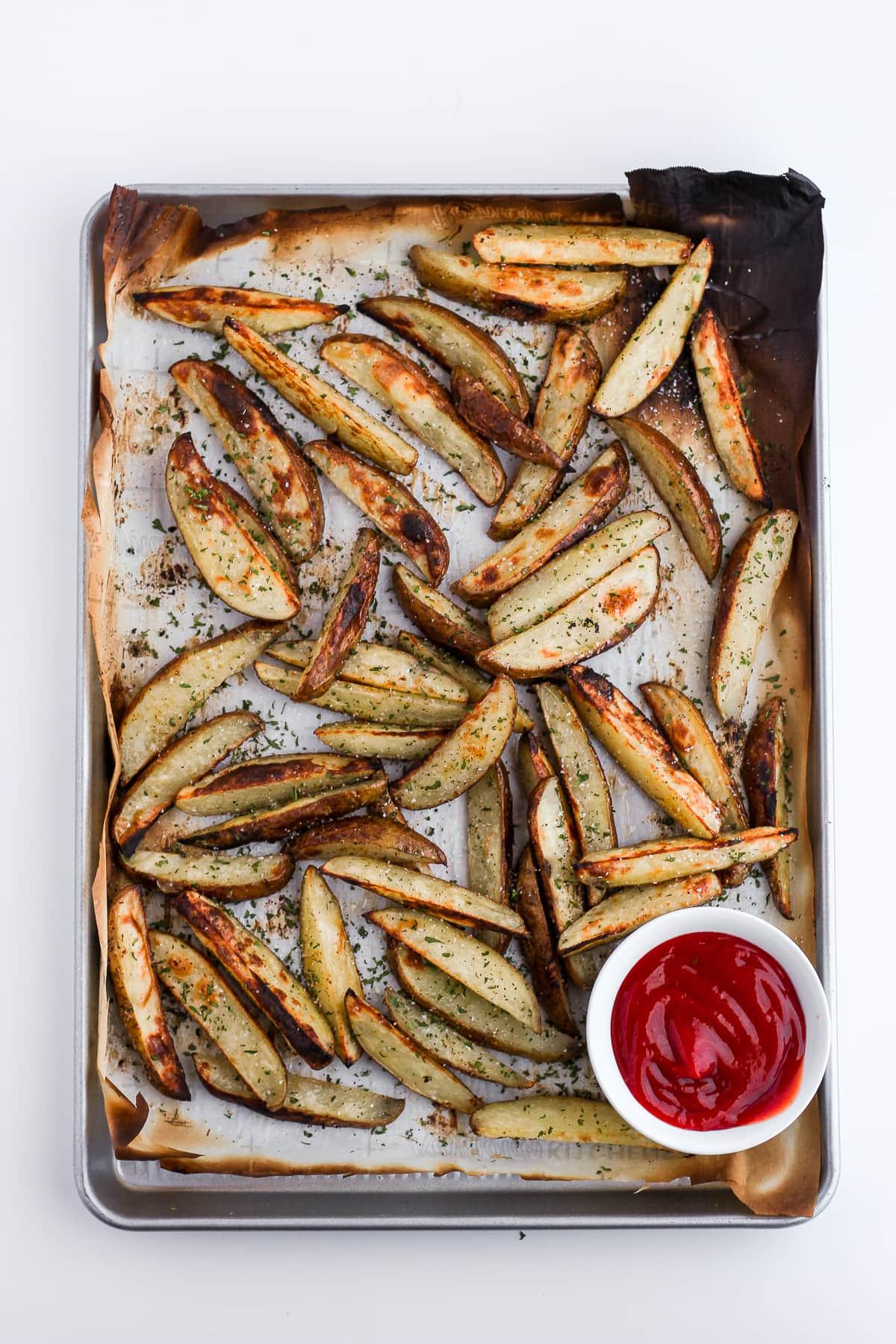 Perfectly Crispy Potato Wedges