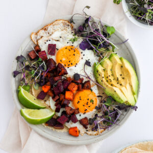 Easy Chorizo Breakfast Hash - paleo and whole30-friendly!