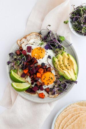 Easy Chorizo Breakfast Hash - paleo and whole30-friendly!