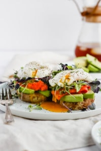 Simple Mother's Day Breakfast Toast - simple, elegant and delicious! #whole30