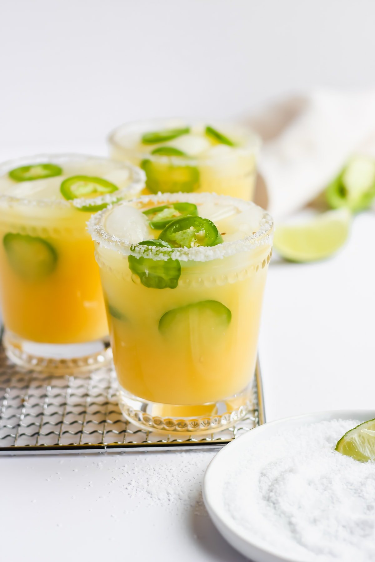 Spicy Jalapeno Margarita Mocktail