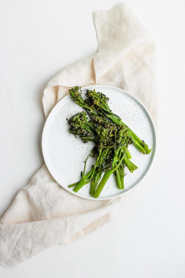 Super Simple Roasted Broccolini