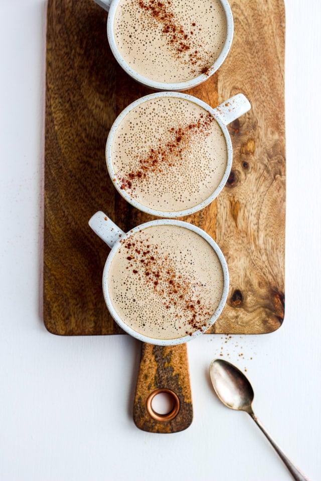 Creamy Cinnamon Cold Brew Cashew Latte