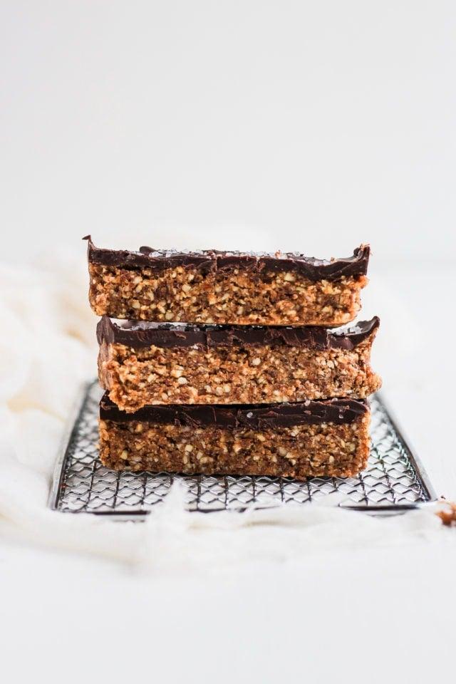 Raw Cashew Chocolate Breakfast Bars