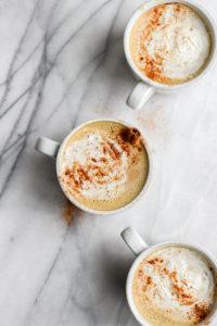 Dairy-Free Pumpkin Pie Spice Latte - a healthier version of your classic pumpkin spice latte! #paleo #dairyfree #pumpkinspice #coffee