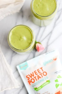 Creamy Avocado Collagen Smoothie - a smooth and nutritious collagen smoothie that will leave you feeling full and satisfied! #smoothie #collagen #dairyfree #dairyfreesmoothie