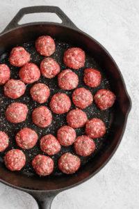 Gluten Free Dumplings and Meatballs (Paleo + Dairy Free) - the ultimate comfort food that is paleo, gluten-free and dairy-free! Kid-approved! #paleodumplings #glutenfreedumpings #glutenfreedumplingrecipe #paleorecipes #grainfree #meatballs