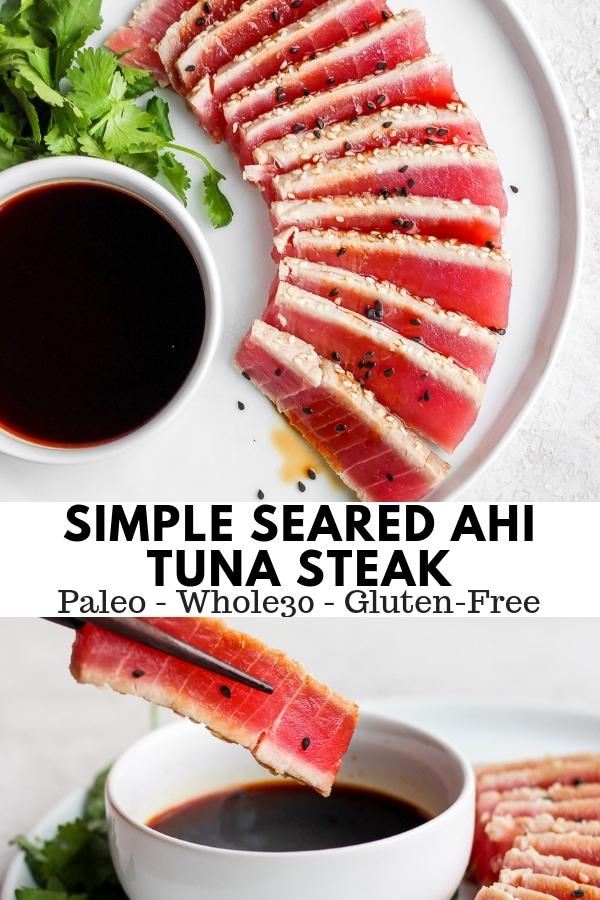 Simple Seared Ahi Tuna Recipe