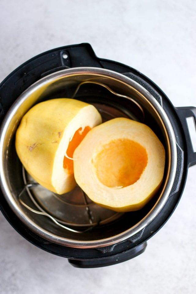 Spaghetti Squash in Instant Pot