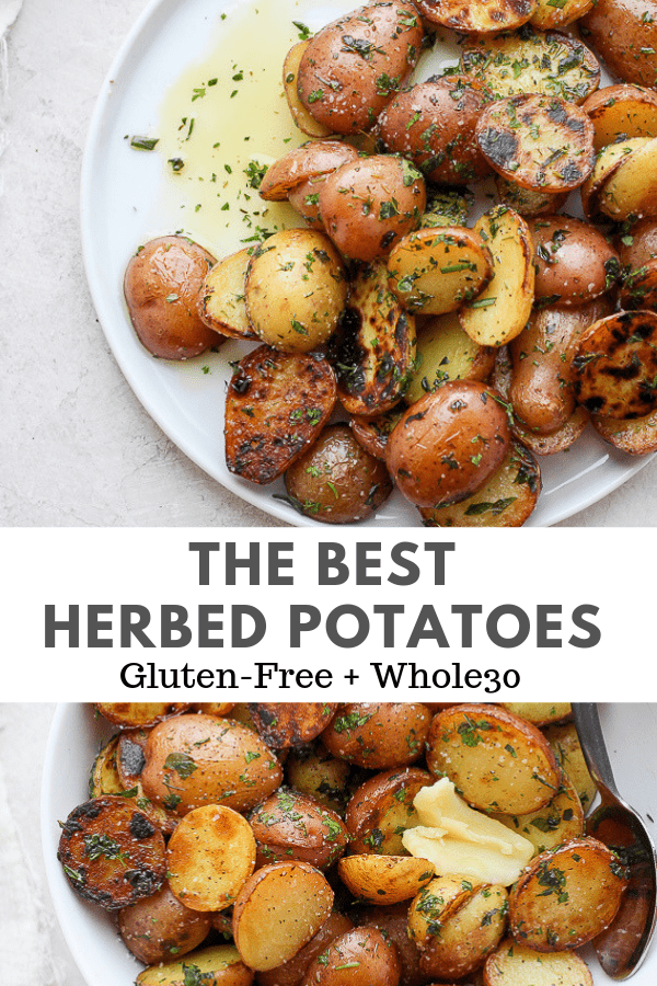 herbed potatoes
