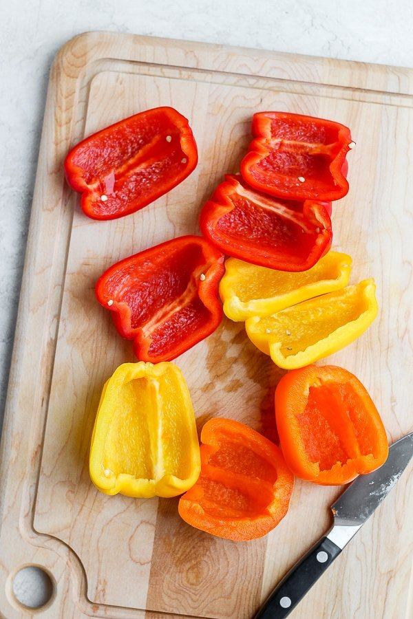 Grilled Bell Peppers