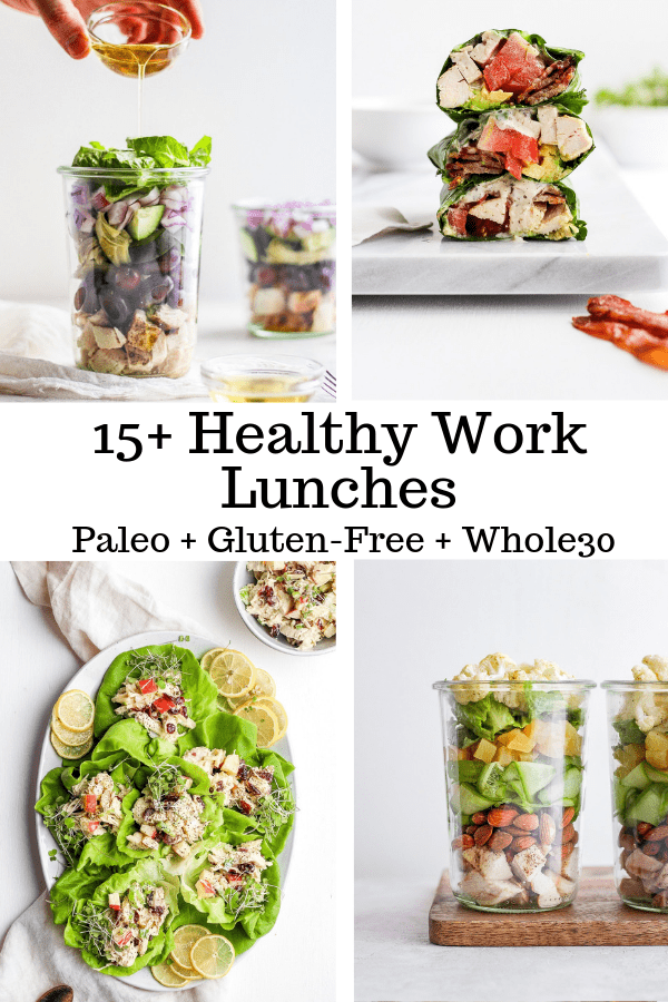 healthy work lunch ideas