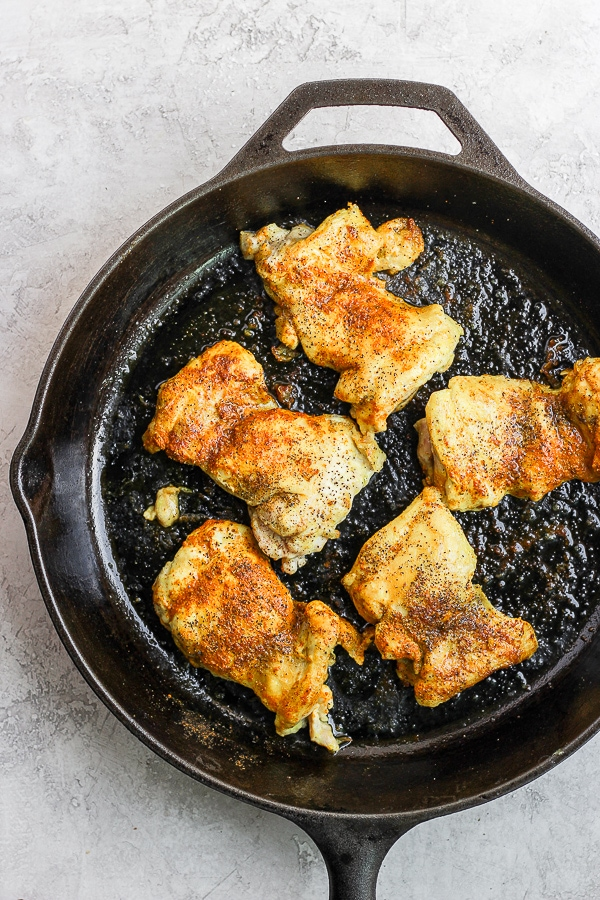 stove top chicken thighs