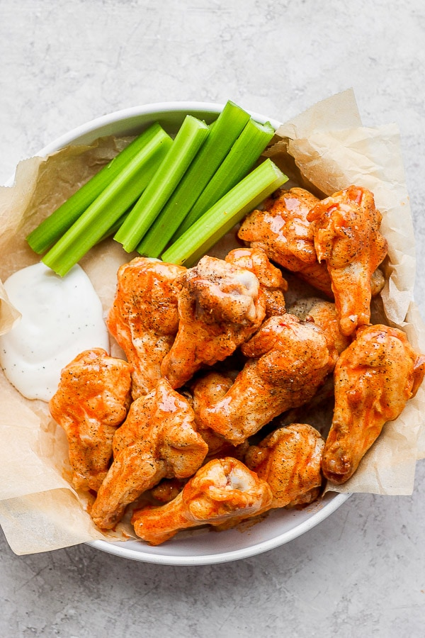 Easy Buffalo Chicken Wings The Wooden Skillet