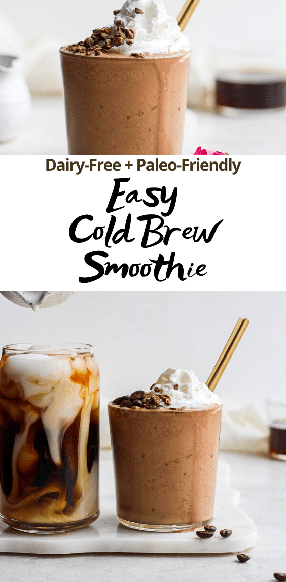 cold brew smoothie