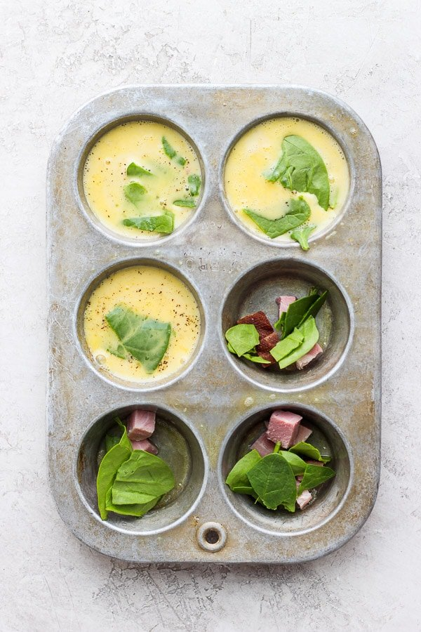 Ham and Egg Cups