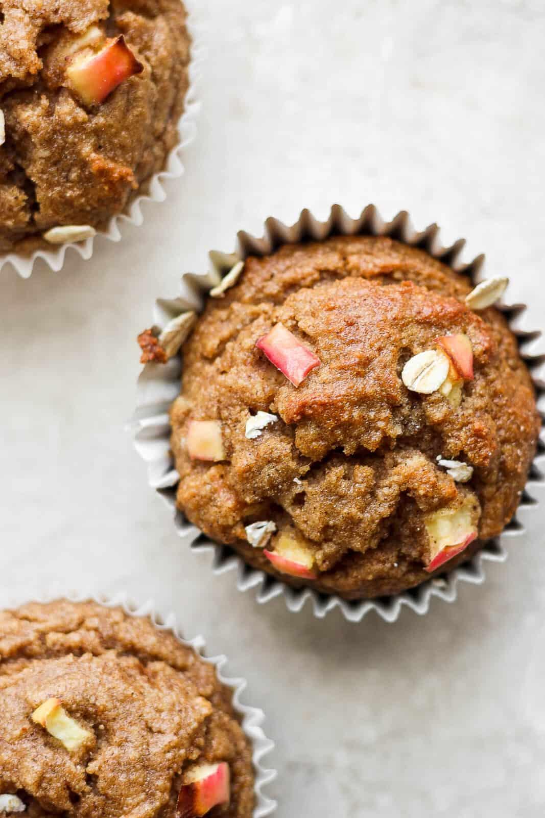 An apple cinnamon muffin.