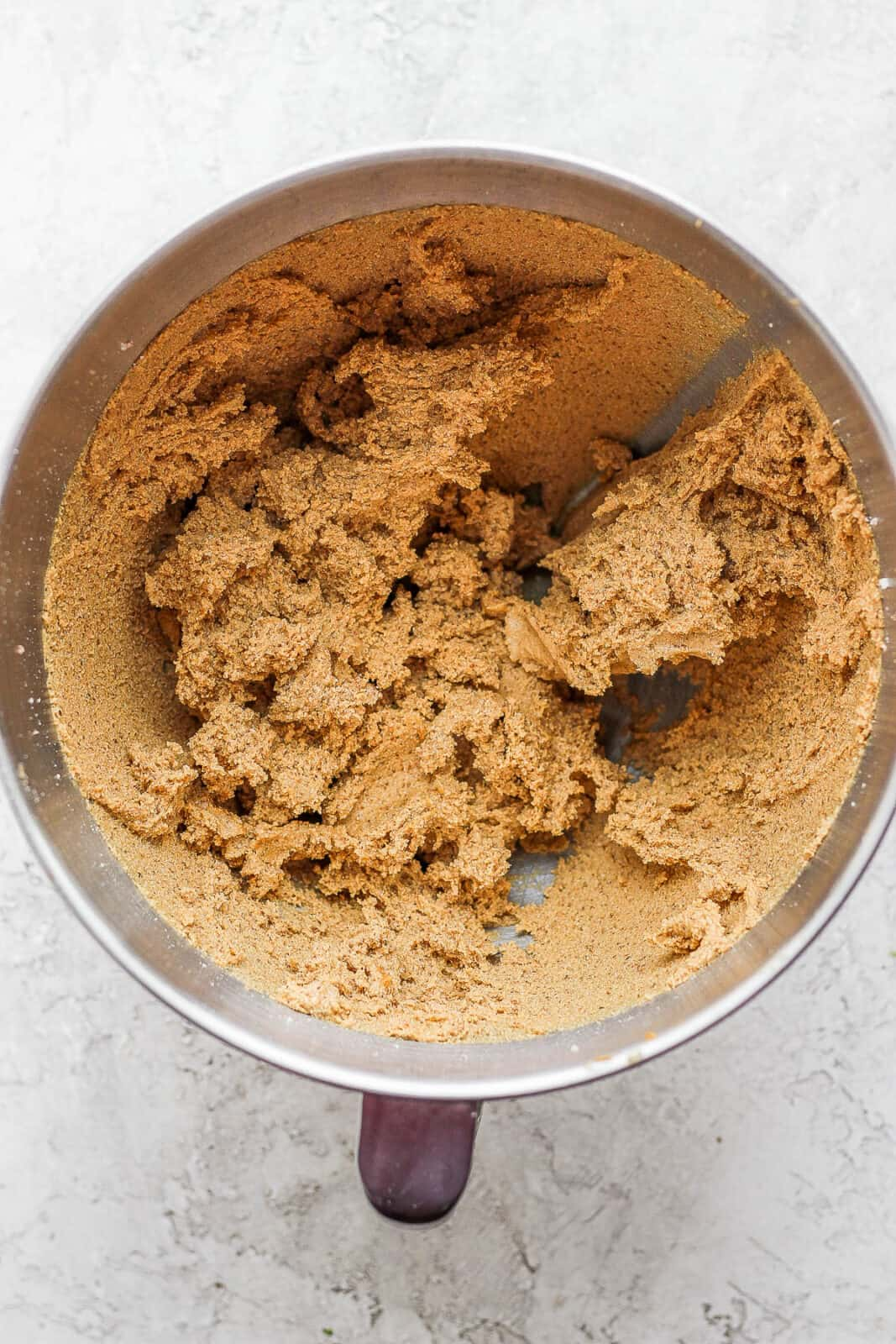Monster cookie dough in a mixing bowl.